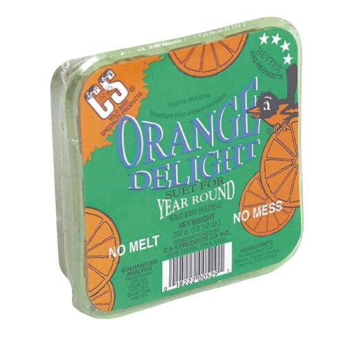 C&S 13.5 Oz. Orange Delight Suet